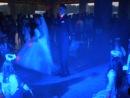 Перший танец молодят ресторан ФАЗЕНДА 8-маленьких ангеляток, холодні фонтани5-штук 3 метри конфеті