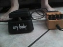 Cry baby GCB-95 and DS-2(Boss) test