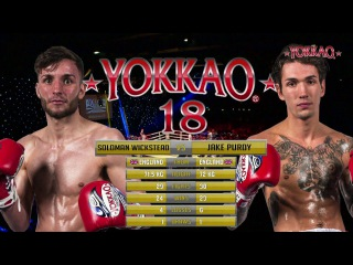 YOKKAO 18: Soloman Wickstead vs Jake Purdy - Muay Thai YOKKAO UK Ranking 72,5kg yokkao 18: soloman wickstead vs jake purdy - mua