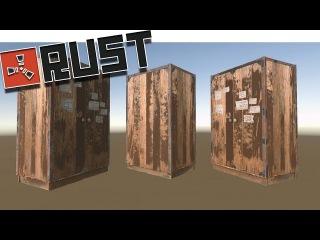 Rust - Лайфхак со шкафом Баг #2