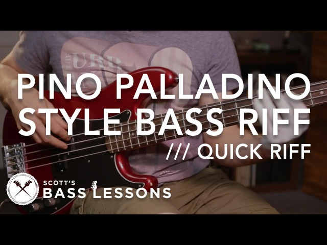 Pino Palladino Style Bass Riff (with a few twists of my own!) - Quick Riff Scotts Bass Lessons