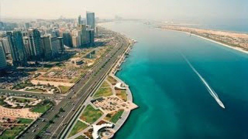 Прогулка по Абу Даби набережная Корниш
