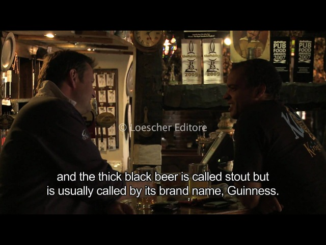 Loescher English Corner 2 7 Pubs with subtitles