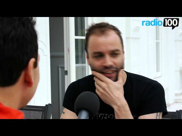 Chris fra Muse interview del 2 Radio 100 Ivan Gregersen 2