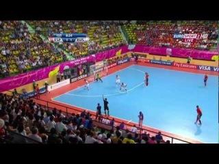 Испания 3 : 2 Россия, 1/4 финала ЧМ 2012