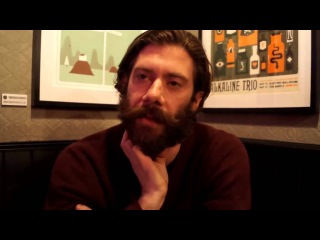 Wes Borland (Black Light Burns) interviewed in London. February 14th, 2013