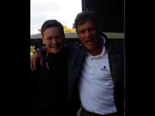 Встретил парня, который говорит на заставке EA Sports |This LAD met the EA Sports Guy. Legend
