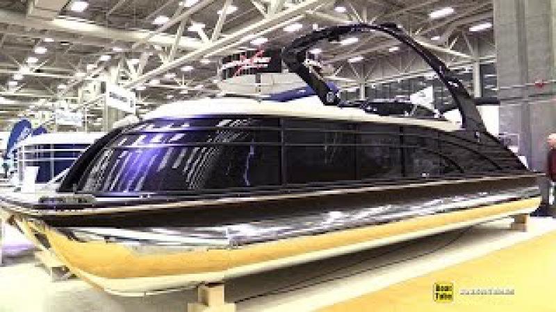 2015 Bennington 2572 QCW Pontoon Boat - Walkaround - 2015 Quebec Boat Show