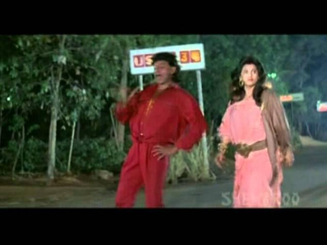Sooni Sadak Pe Mithu Chakraborty Bappi Lahiri Pyar Ke Naam Qurbaan Hindi Song