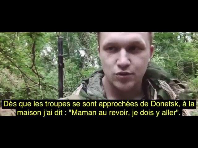 (Donbass) Artem Grishanov - Ennemi aux portes (Traduction française)