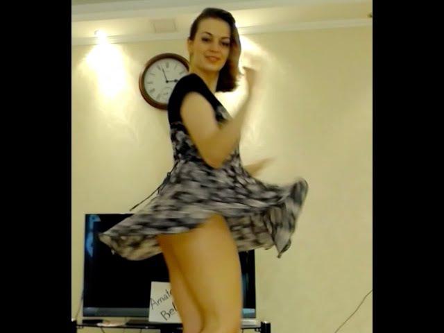 Amazing Upskirt Teen Cam Girl Dancing in Stunning Blouse So Much Fun