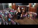 Моя коллекция кукол Монстер Хай 162 куклы