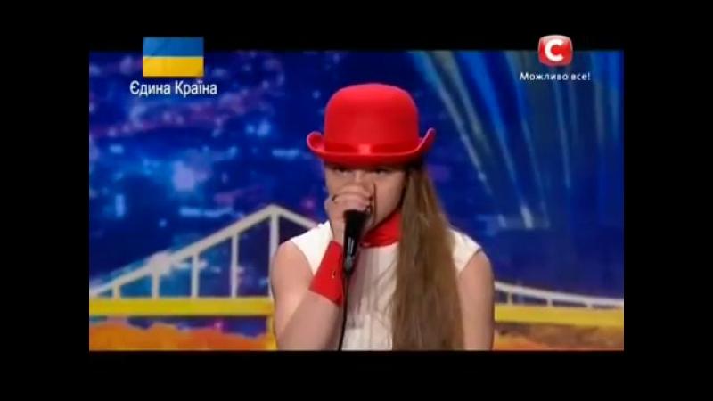 Україна має талант 6 Оля Пьянова БИТБОКС Loop Station Донецк 22 03 14 YouTube 0 1444777600074