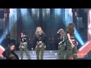 [Debut Stage] 150102 SONAMOO (소나무) - Everlasting Love (아낌없이 주는 나무) & Deja Vu (데자뷰) @ Music Bank
