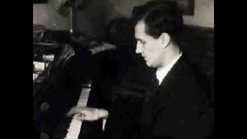 Vladimir Sofronitsky plays Chopin Impromptu No. 3, Op. 51