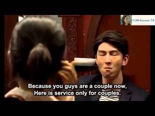 Юмор Корейский ресторан для одиноких с сюрпризом