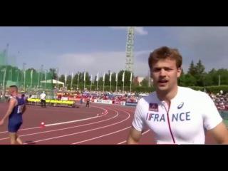 Christophe Lemaitre  Men's 100m  Cheboksary 2015