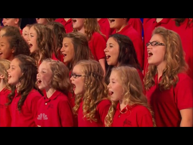 America's Got Talent S09E05 One Voice Children's Choir sing Burn by Ellie Goulding