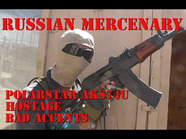 Russian Mercenary with Polarstar AKS74U Overview/Gameplay