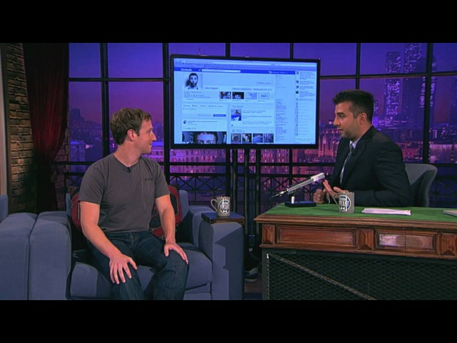 Марк ЦукербергMark Elliot Zuckerberg в гостях у Ивана. Вечерний Ургант. (01.10.12)