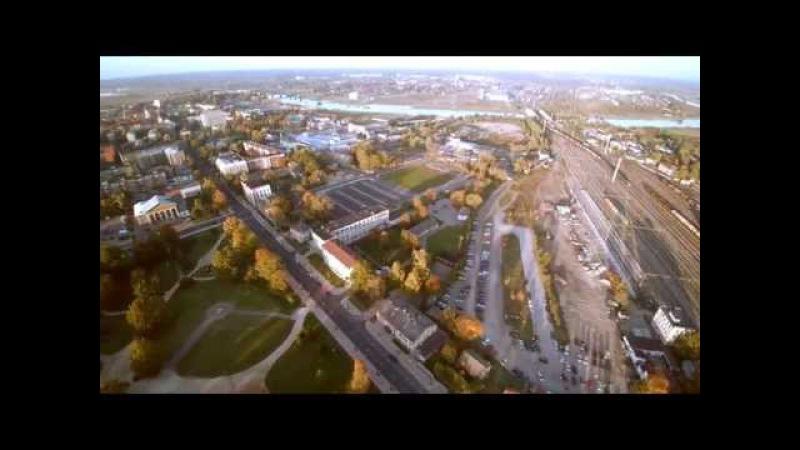 Елгавская Железнодорожная Станция Timelapse