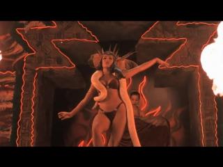 Танец Сальмы Хаек - -От заката до рассвета-