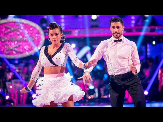 Georgia May Foote Giovanni Pernice Jive to 'Dear Future Husband' Strictly Come Dancing 2015