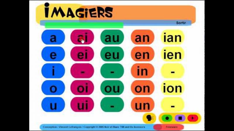 FRANÇAIS LANGUE ÉTRANGÈRE = Imagiers = Phonétique = Voyelles