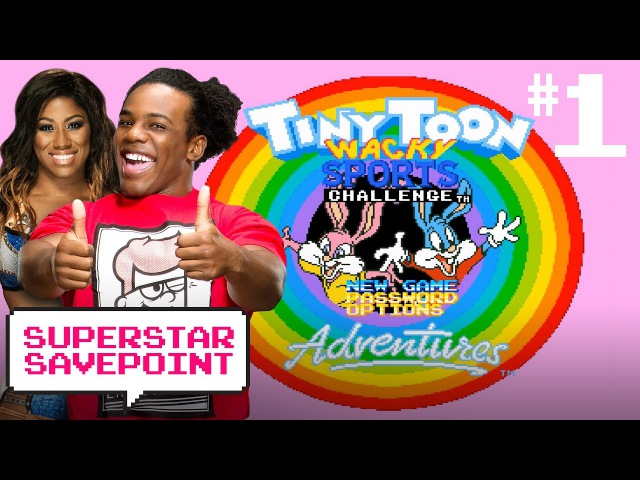 NXT's Ember Moon Austin Creed head to Acme Looniversity in Tiny Toons Pt 1 Superstar Savepoint