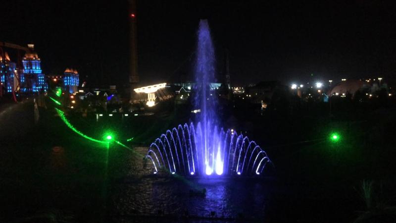 Сочи парк Лазерное шоу