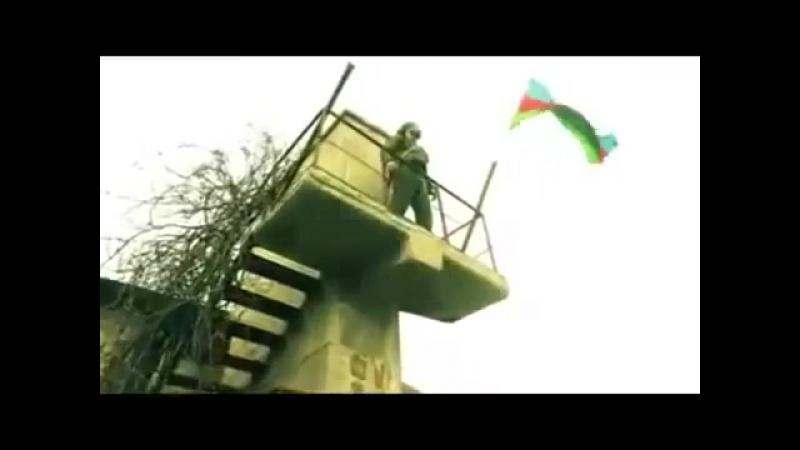 Azərbaycan bayrağı işğaldan azad edilən ərazimizdə belə dalğalandı