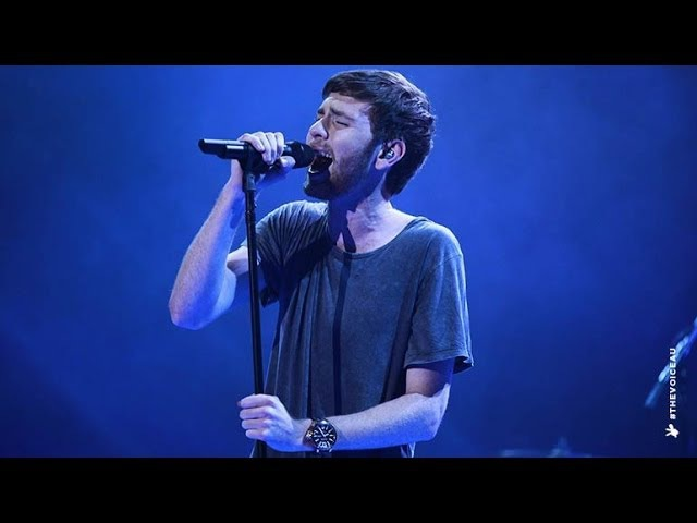 Robbie Balmer sings Love Lost The Voice Australia 2014