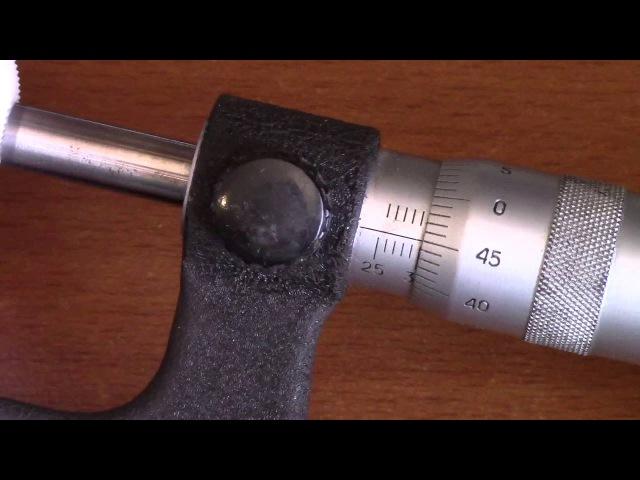 как пользоваться микрометром. для новичков
