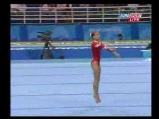Elena Zamolodchikova '04 Olympics TF Floor ex