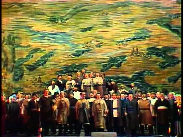 Сергей Прокофьев опера Война и мир 1978 год