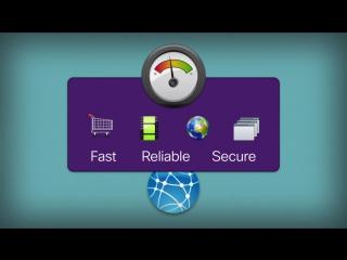 Cisco интеллектуальный WAN с подключением Akamai