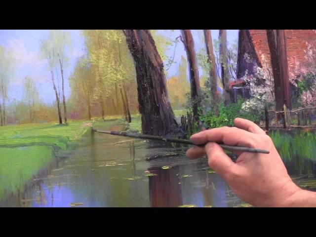 НОВЫЕ ВИДЕОУРОКИ ИГОРЯ САХАРОВА Урок Сельский пейзаж