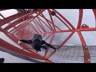 The climb down (Shanghai Tower)
