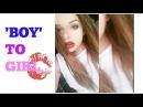 'Boy' To Girl Make-up Routine (Transgender Teen)
