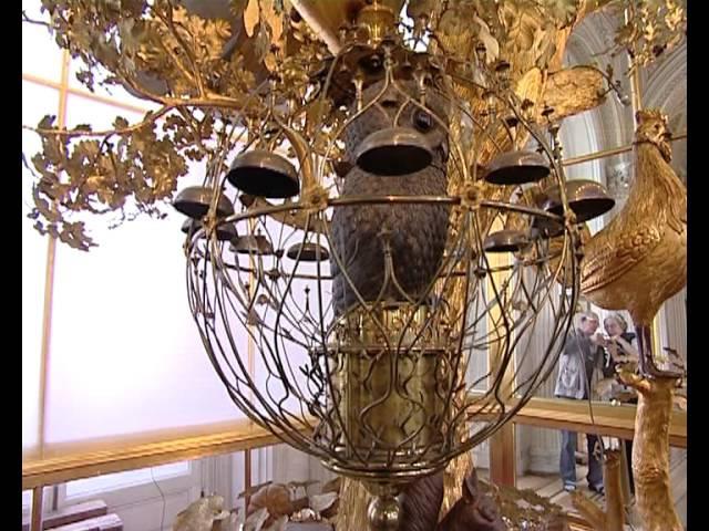 Часы Павлин в Эрмитаже