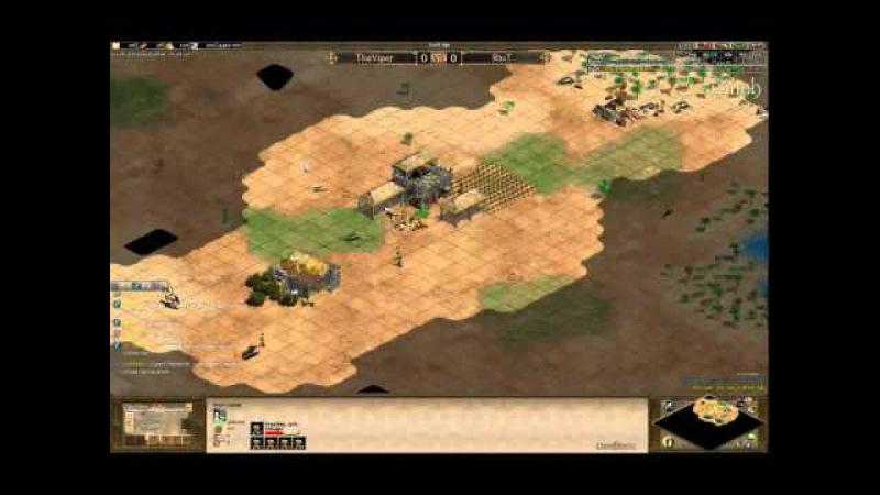 Arabia 1v1 QF TheViper huns vs huns RiuT Game 1 Part 1 by Vinch