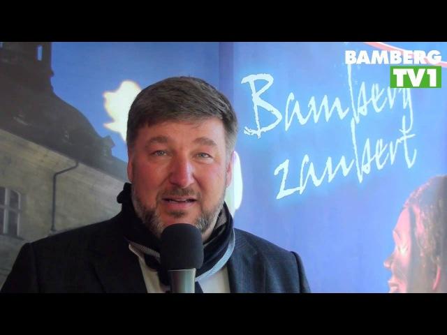 Pressekonferenz zu Bamberg zaubert 2013 mit Michael Lane und Rayland Horton / BAMBERG TV1