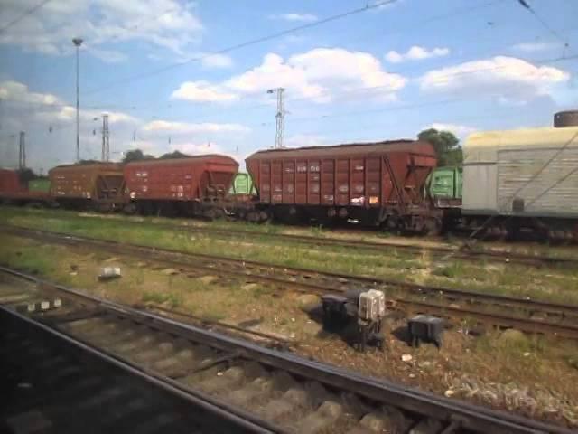 Прибытие на станцию Лихая Arriving at the station Lihaya
