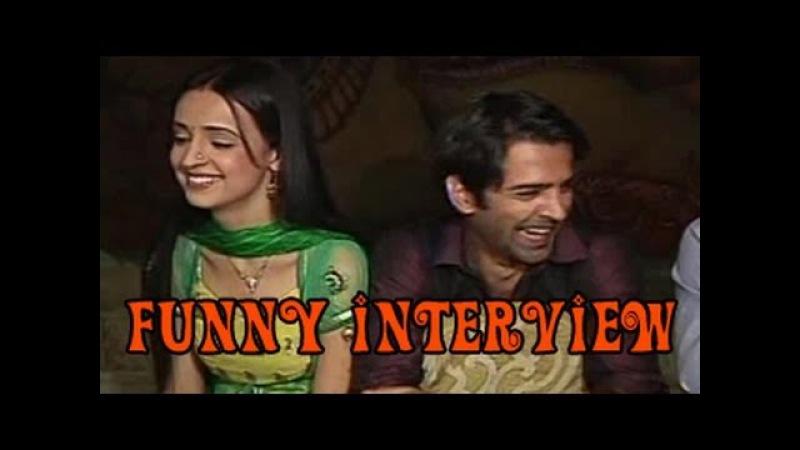 Arnav Khushi NK's FUNNY INTERVIEW of Iss Pyaar Ko Kya Naam Doon 19th July 2012
