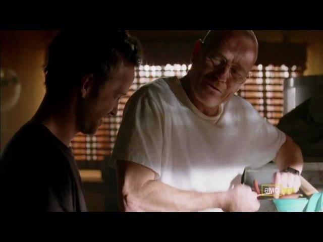 Breaking Bad 2x09 The Wire Scene