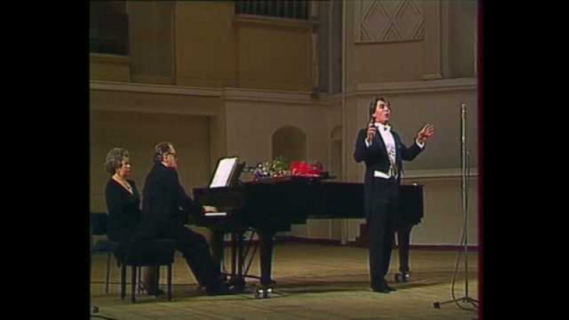 Hvorostovsky Rachmaninoff recital 1990 8 12 He has taken everything from me