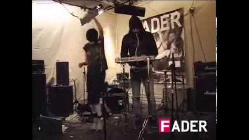 Crystal Castles Crimewave Live 2006 FADER