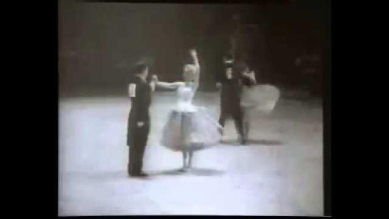 European Latin Champions Amateurs 1959 Karl Ursula Breuer