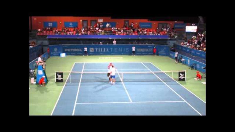 Zemlja vs Kudryavtsev SF ATP Challenger Portoroz 2015 (match point)
