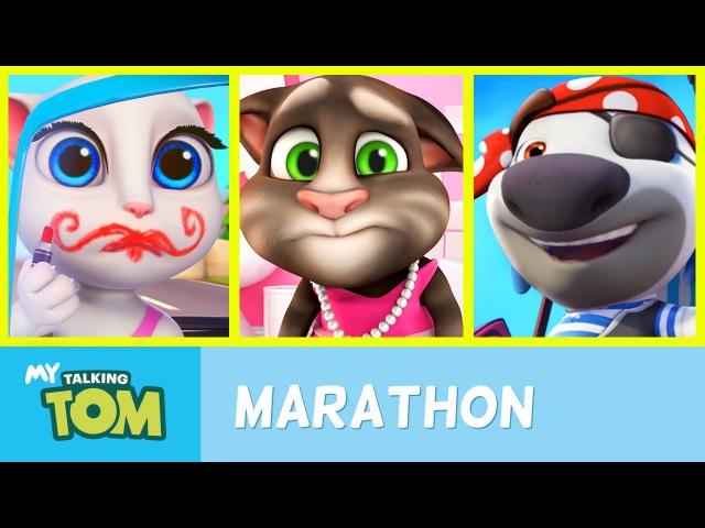 Talking Tom Shorts – Ultra Marathon (All Episodes)